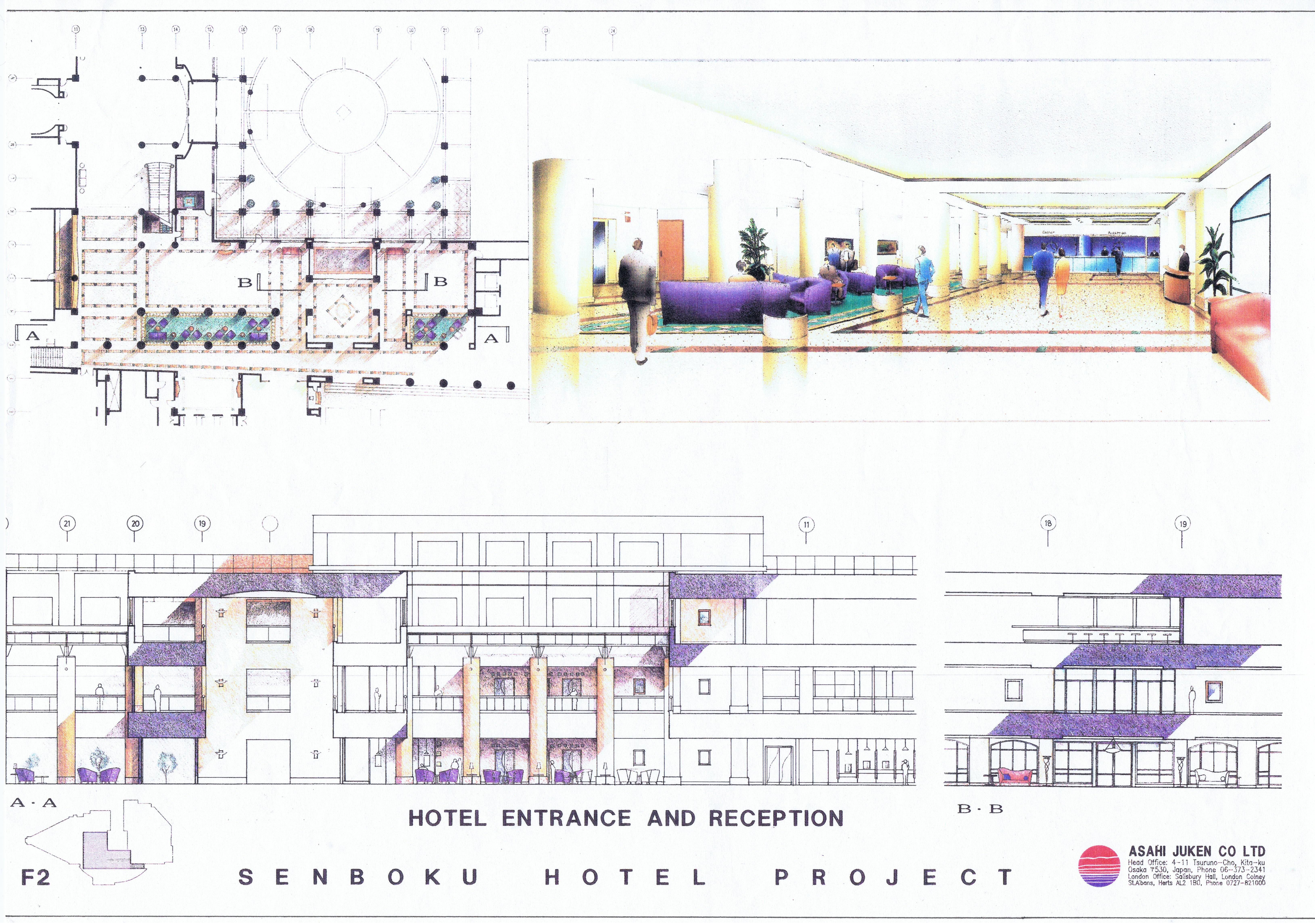 Hotel design japan diana arnold design interiors for Hotel design uk